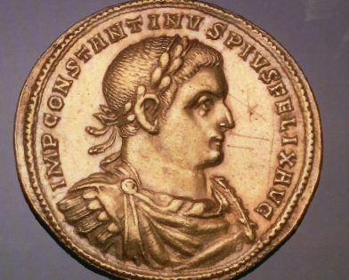 Coin of Constantine, 330 CE