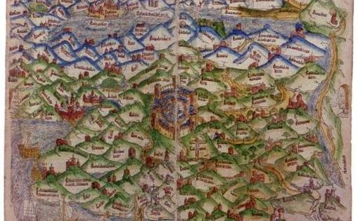 First Map of the Holy Land, 1475