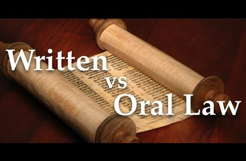 Written and Oral Torah