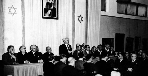 May 14, 1948, Israel's Declaration of Independence