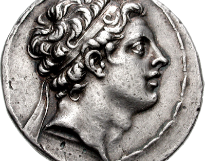 Coin of Antiochos IV Epiphanes