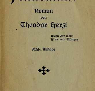 Cover of Altneuland