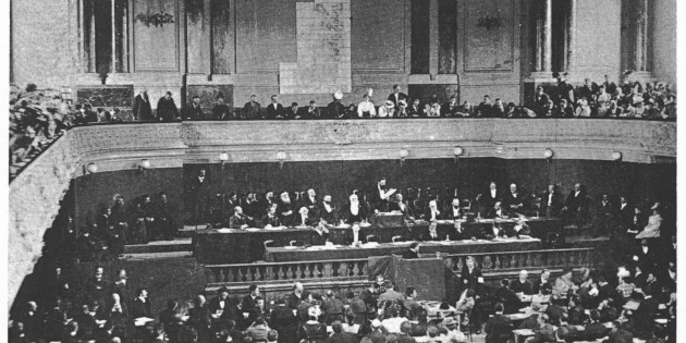 The Second Zionist Congress, Basel, Aug. 28-31, 1898