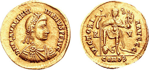 July 9, 425 Emperors Theodosius II (408 – 450) and Valentinian III (425 – 455)