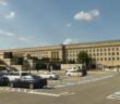 Washington, DC - June 01, 2018: Pentagon building, headquarters for the United States Department of Defense.