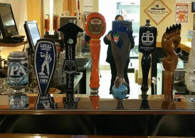 More than 30 beers on tap
