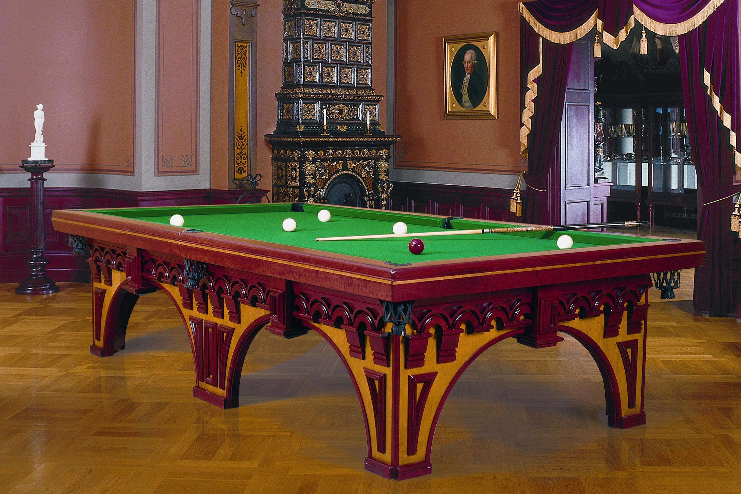 BUckingham Colored Russian Pool table copy