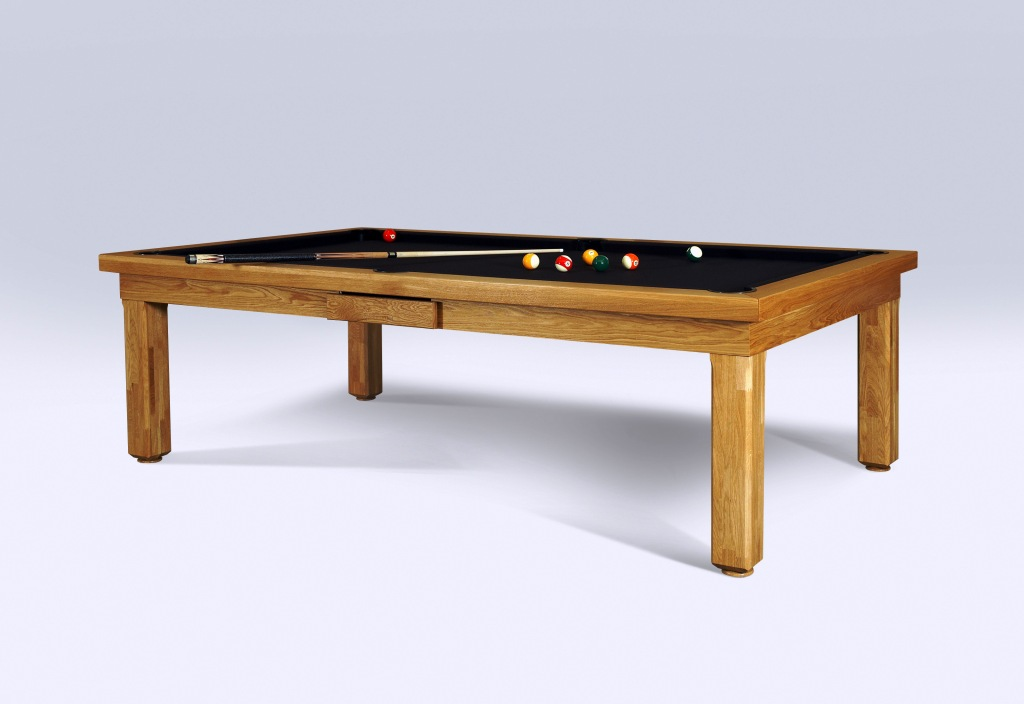 Convertible dining pool fusion table Milan by Vision Billiards