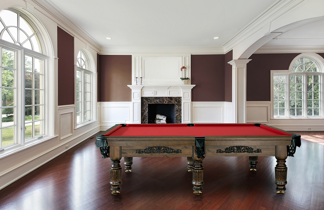 9' size American Pool Tournament table