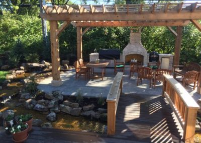 Pergola - MK Custom Homes