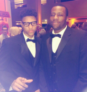 Kelly Oubre and Cliff Alexander
