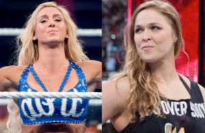 Charlotte Flair VS Rhonda Rousey – Unified Women's Championship