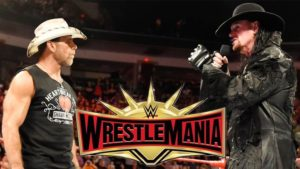 Shawn Michaels VS The Undertaker - If undertaker loses, he retires