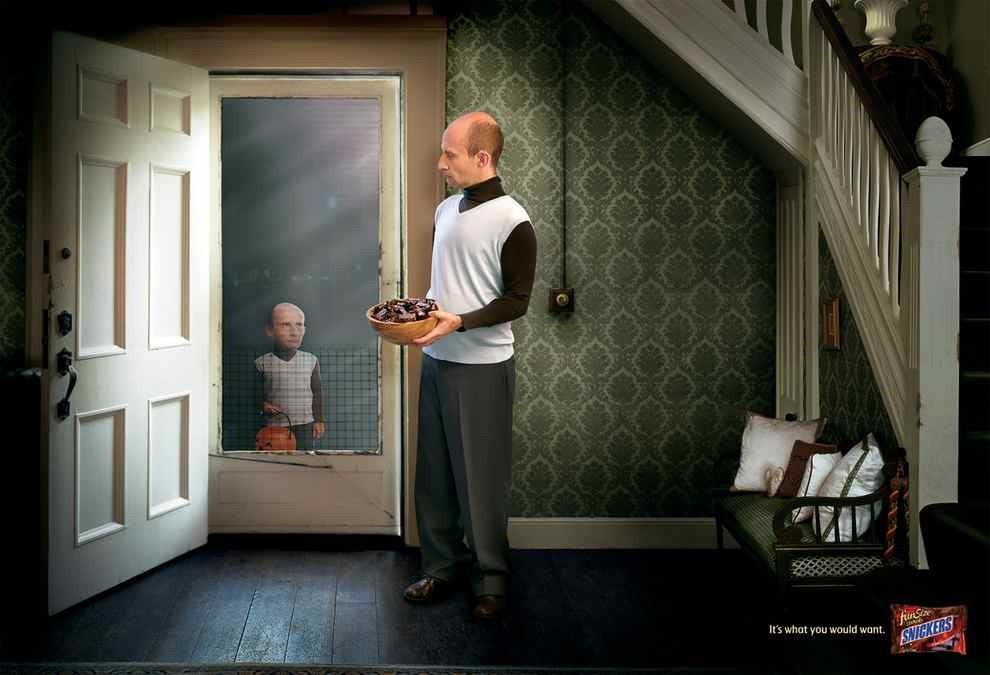 Halloween Guerilla Campaigns and Ads