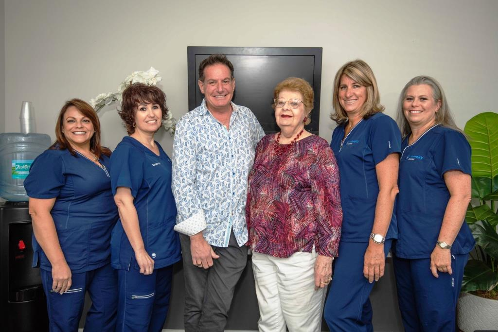 Krimsky Dental team photo 2019 1024x683