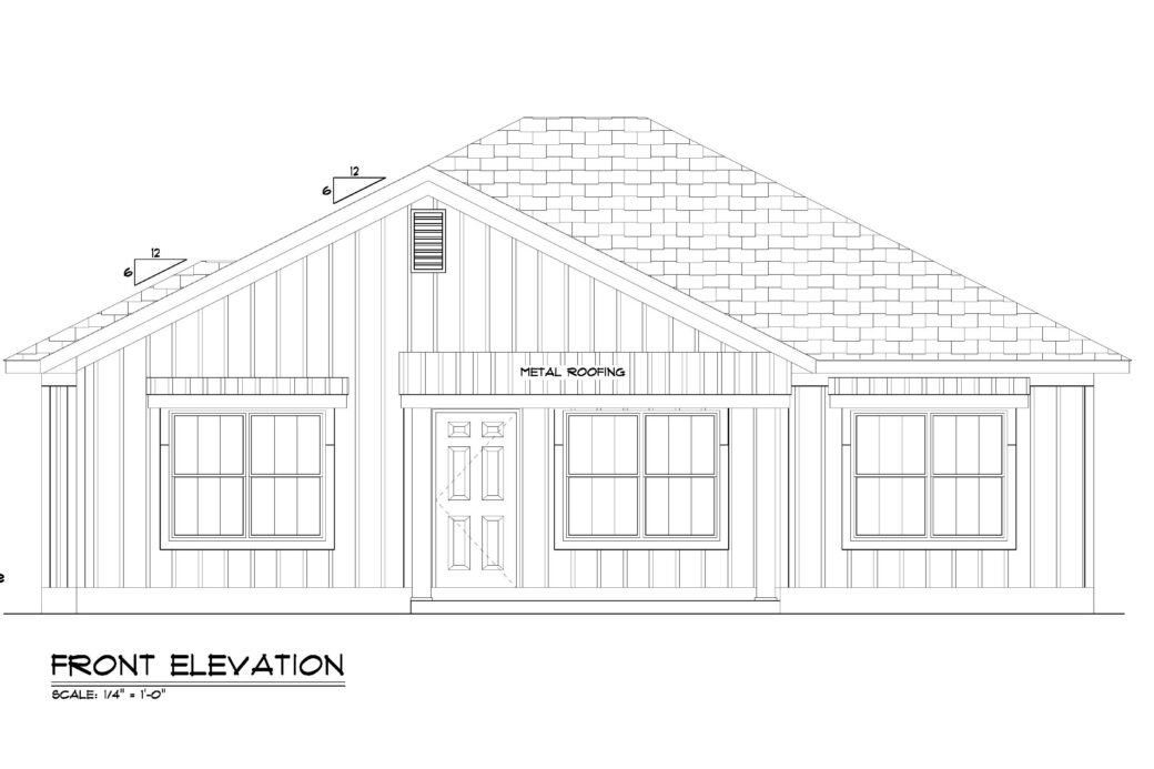 Lot 66 Front elevation-page-001