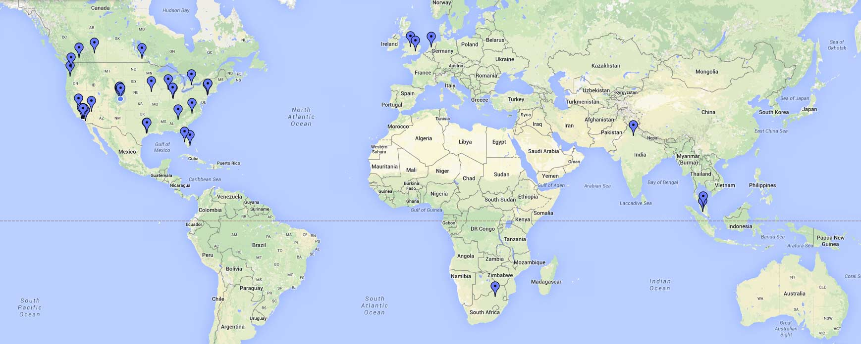 Trepoly Map of Customers Image