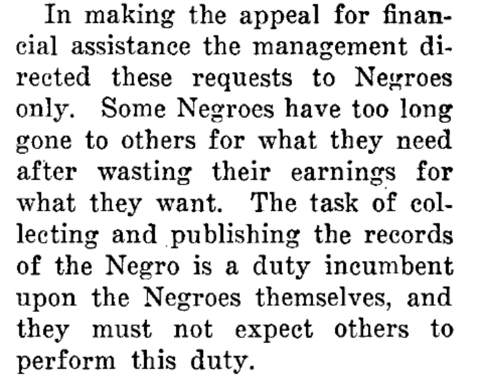 Publishing the Records of the Negro Is a Duty