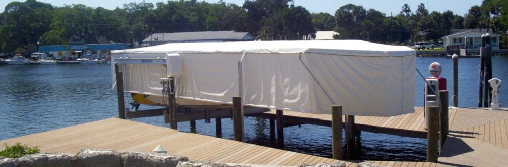 touchless boat cover
