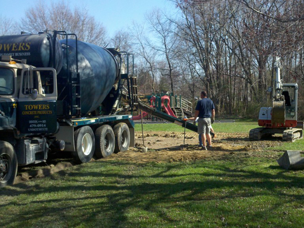 Carroll Bros. Contracting Pouring Concrete for Footers - Chester, MD