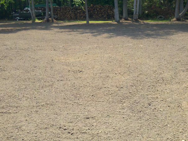 Carroll Bros. Contracting Final Graded Yard in Pasadena, MD to correct yard drainage issues