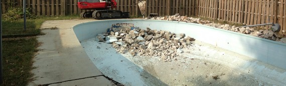 Foreclosure Pool Removal
