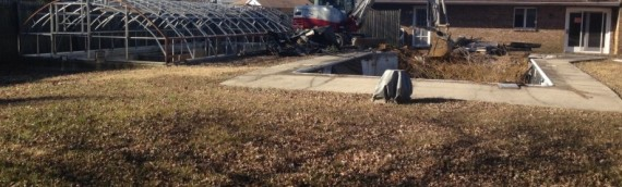 Kent Island Pool and Greenhouse Removal