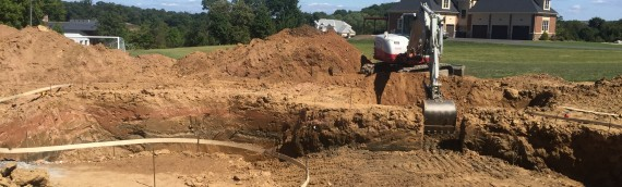 Clarksville Pool Excavation