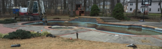 Burtonsville Pool Removal