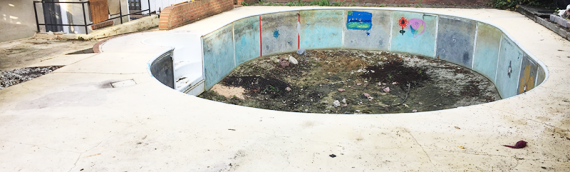 Edgewater Pool Removal