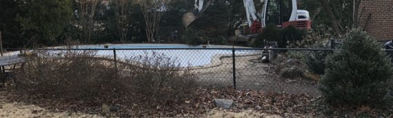 Concrete Pool Removal in Severna Park Maryland