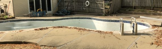 Concrete Pool Removal in Bethesda Maryland