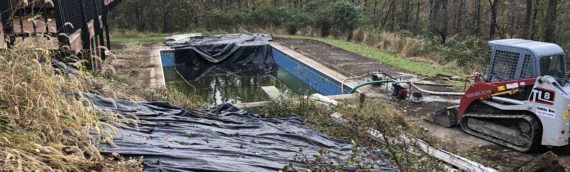 Vinyl Liner Pool Removal in Baltimore County