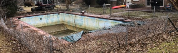 Concrete Pool Removal in Towson Maryland