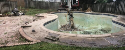 Concrete Pool Removal in Rockville Maryland
