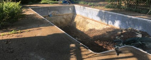 Vinyl Liner Pool Removal in Annapolis Maryland