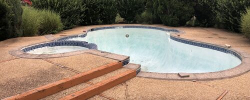 Concrete Pool Removal in Queenstown Maryland