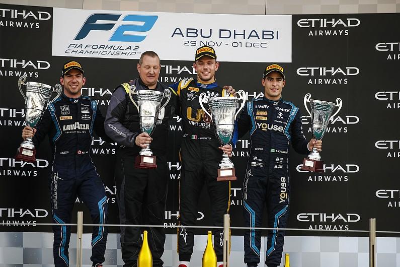 F-2 em Abu Dhabi: Luca Ghiotto vence a prova #2
