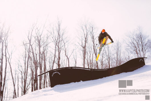 Ian Compton at Mount Snow