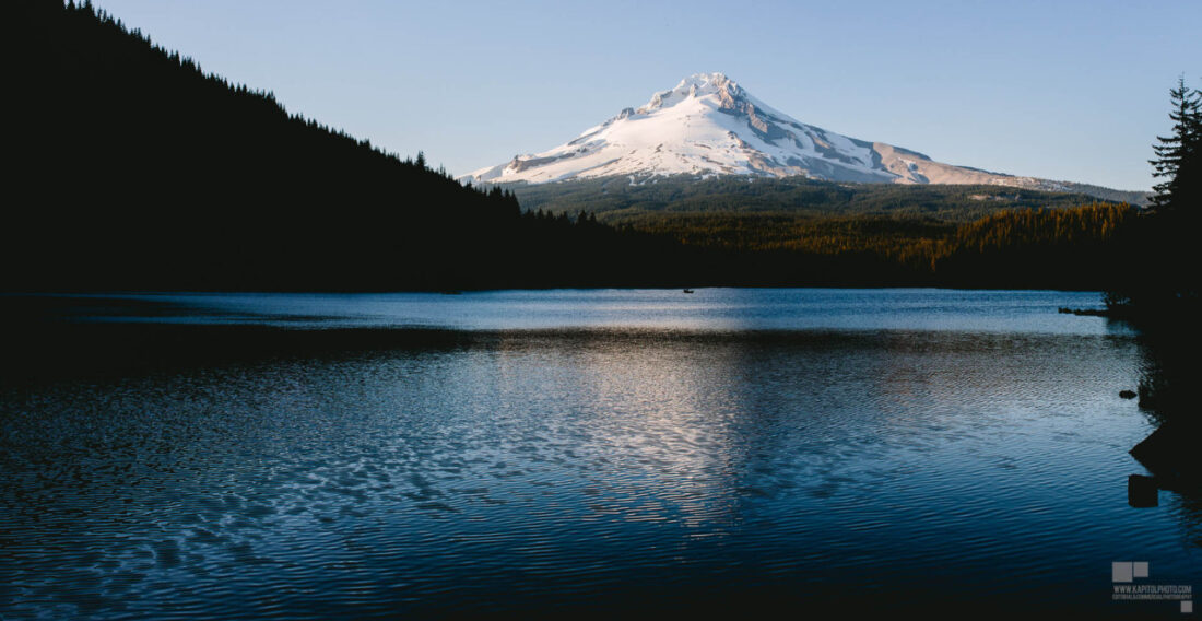 Mount Hood, Oregon from Trillium Lake
