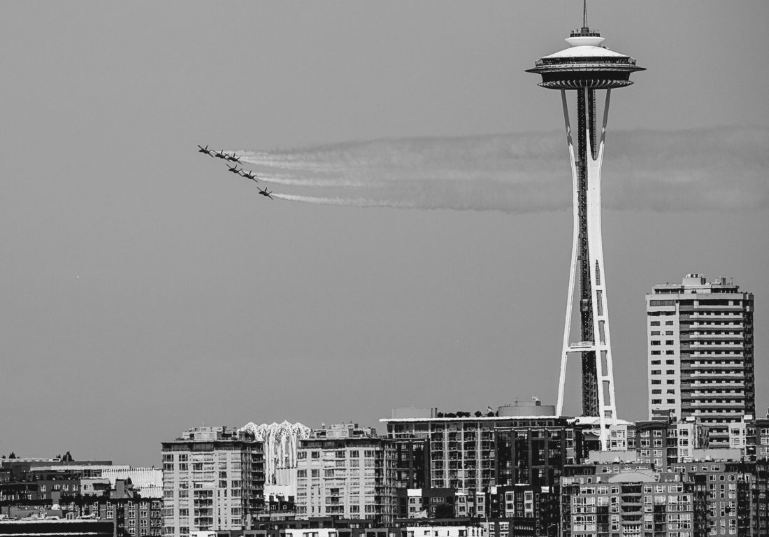 Blue Angles in Seattle, Washington