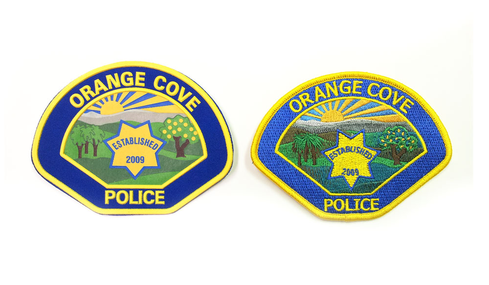 Orance Cove Police Patch