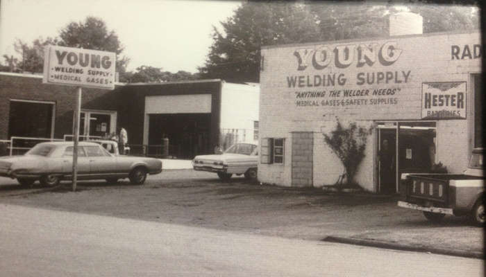 young welding first location