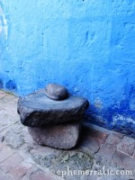 Grinder, Santa Catalina Monastery and Convent, Arequipa, Peru photo