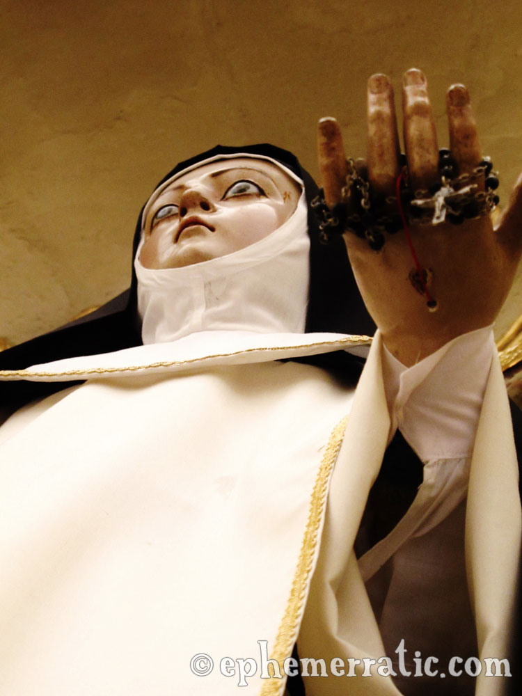 Nun nightmare, Santa Catalina Monastery and Convent, Arequipa, Peru photo