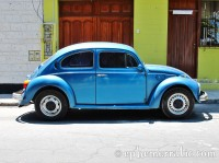 Blue VW, Arequipa, Peru photo