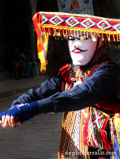 Cápac Colla dancer in Cusco, Peru photo