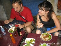 Cau lau with Cam and Nicole, Hoi An, Vietnam photo