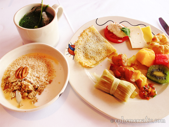 Urubamba, Peru, Hotel Sol y Luna, breakfast buffet photo