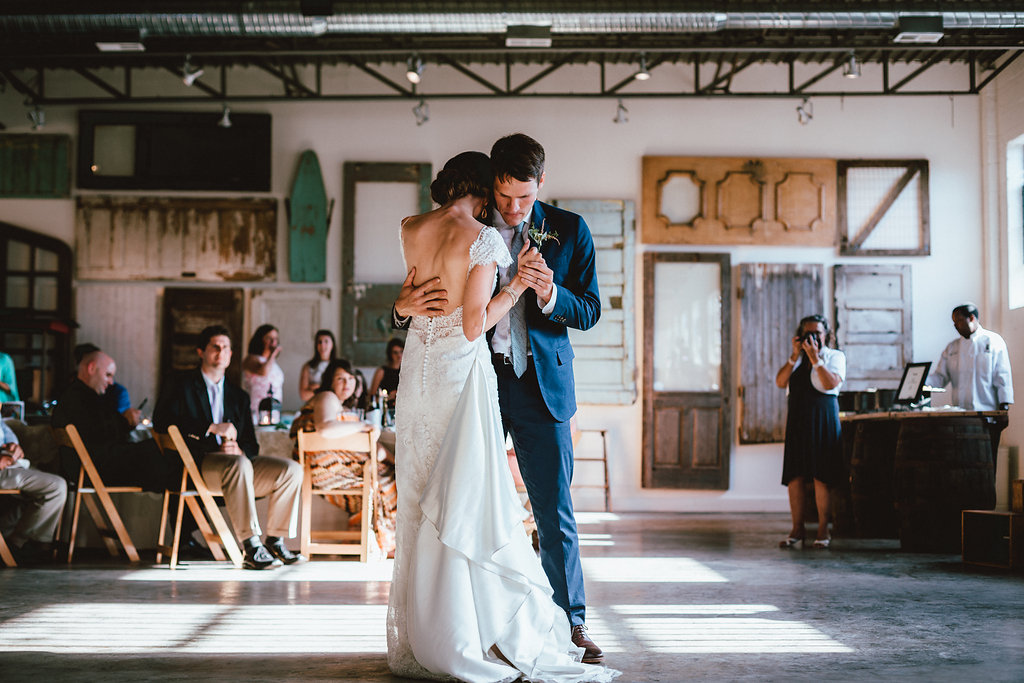 First dance in the main room.